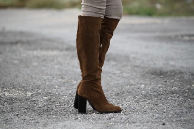 botas de ante
