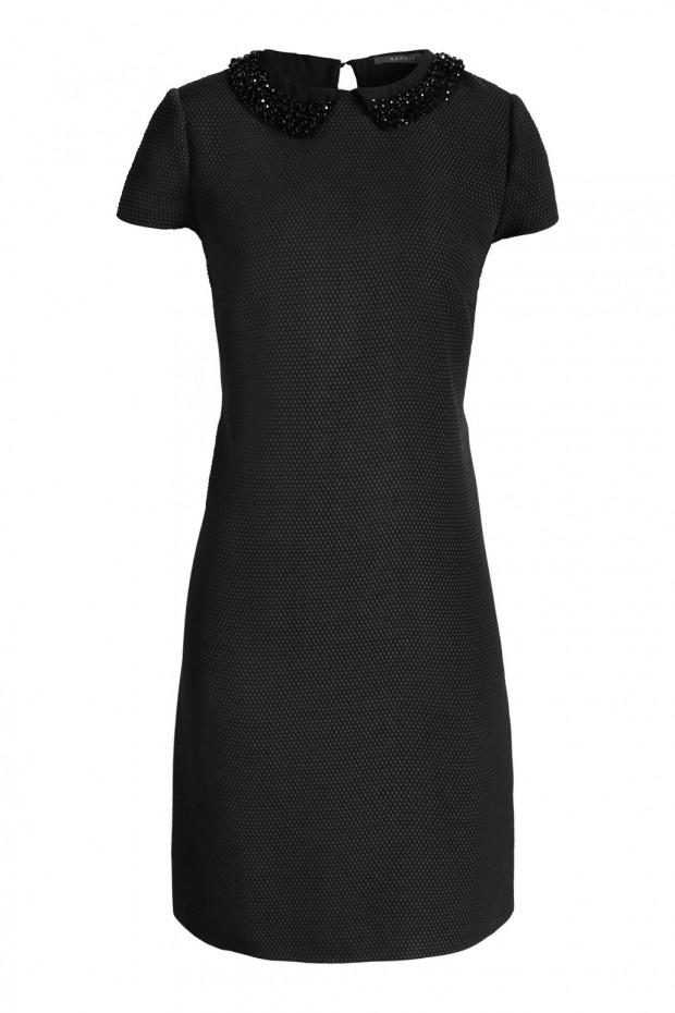 vestido negro coctail