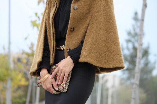 capa de lana