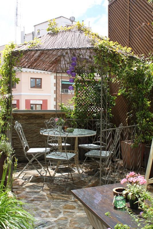 terrazas románticas