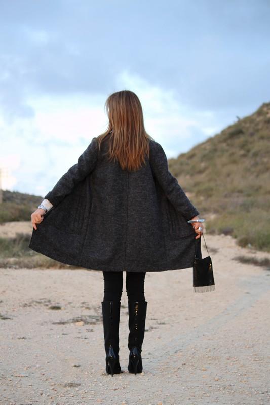 abrigo stradivarius