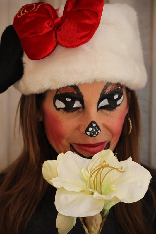 maquillaje Minnie