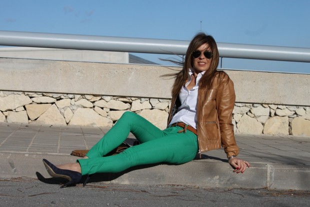 PANTALONES DENIM DE COLORES