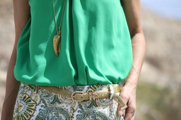 blusas verde esmeralda