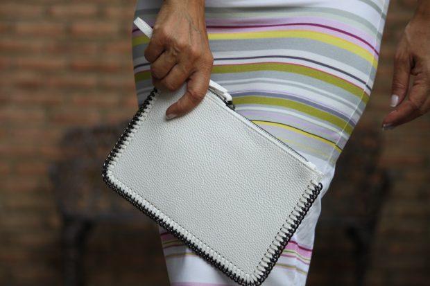 carteras blancas
