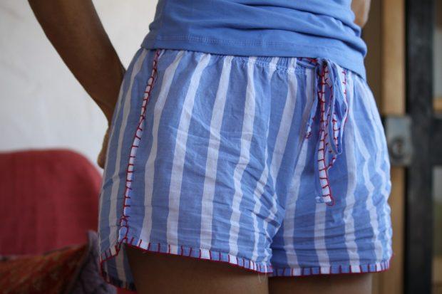 pijamas de rayas